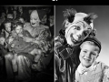 Vintage creepy clowns