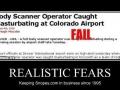 Realistic fears