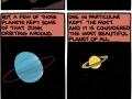 Beautiful solar system