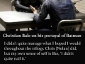 Christian Bale on Joker