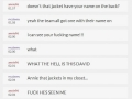 Creepiest chat history