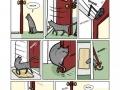 Cat vs soft close door