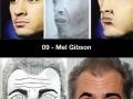 Celeb fan art sketches