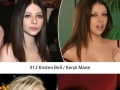 Celebs that look similar to p*rn stars