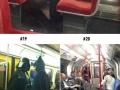 Ridiculous stuff on subways