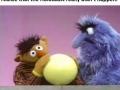 Dark times on Sesame Street
