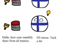 Finland getting that oil money