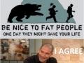 Fat guys!