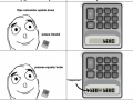 Calculators are antisocial