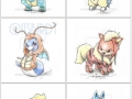 Cute Pokemon and their bigger forms