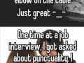 Some bad job interviews