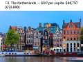 25 richest countries in the world