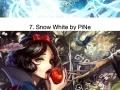 Anime artists make Disney characters kawaii
