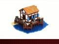 Lego Age of Empires II buildings