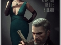 The Witcher reimagined as film noir