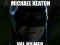 Actors who've played batman in movies