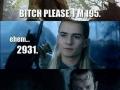 Bilbo be like I am over 111