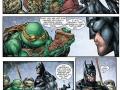 Just Batman having pizza with TMNT