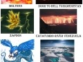 Appropriate Earth locations for pokemons