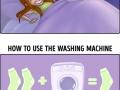 Domestic habits everyone will recognize