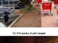 Pictures that show a whole new level of laziness