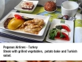Flight food addict flown 428k miles to rate the best meal on plane
