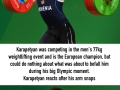Andranik Karapetyan's arm snaps during Rio Olympic Games