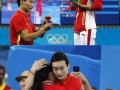 Chinese diver He Zi made a touching podium proposal
