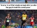 Usain Bolt & Andre De Grasse made the 200m semi-final look so easy