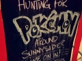 Funny Pokemon GO signs people come up with