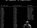 What's your Skyrim name?