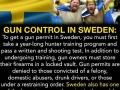 Gun control in Sweden