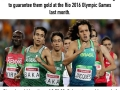 4 visually-impaired Paralympic runners beat Olympic gold time in 1500m race