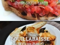 Commonly mispronounced food words