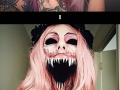 This makeup artist will scare you to death