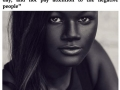 Teen bullied for her dark skin colour becomes a model