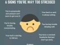 6 signs you're way too stressed