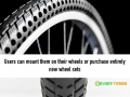 Airless bike tires that'll never get flat