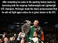 Conor McGregor may never fight again