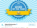What should be 2016�s word of the year?