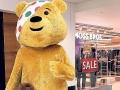Disturbing Pudsey the Bear