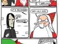 Dumbledore going out with a bang
