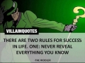 Some great villain quotes