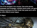Powerful beings in the Marvel Universe