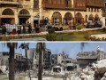Before & after photos of Aleppo