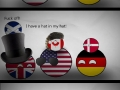 Countryballs, now with hats