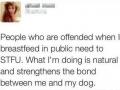 Br*astfeeding in public