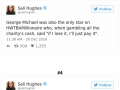 Tweets about George Michael�s generosity
