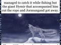 Norse mythology - The children of Angrboda