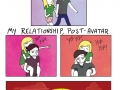 Relationship, pre and post-avatar